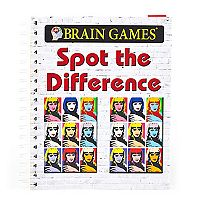 Brain Games Spot The Difference Book by Publications International, Ltd.