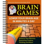 Brain Games Puzzle Book