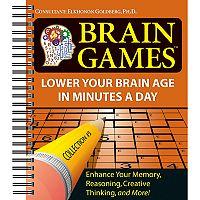 Brain Games Puzzle Book