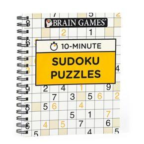 Brain Games 10-Minute Sudoku Puzzle Book by Publications International, Ltd.