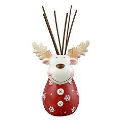 San Miguel Reindeer Christmas Reed Diffuser 9-piece Set