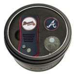 Team Golf Atlanta Braves Switchfix Divot Tool, Cap Clip & Ball Marker Set
