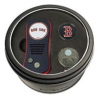 Team Golf Boston Red Sox Switchfix Divot Tool, Cap Clip & Ball Marker Set