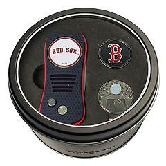 Team Golf Boston Red Sox Switchfix Divot Tool, Cap Clip & Ball Marker Set