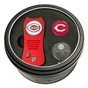 Team Golf Cincinnati Reds Switchfix Divot Tool, Cap Clip & Ball Marker Set