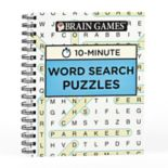 Brain Games 10-Minute Word Search Puzzle Book by Publications International, Ltd.