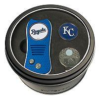 Team Golf Kansas City Royals Switchfix Divot Tool, Cap Clip & Ball Marker Set