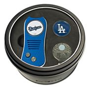 Team Golf Los Angeles Dodgers Switchfix Divot Tool, Cap Clip & Ball Marker Set