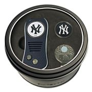 Team Golf New York Yankees Switchfix Divot Tool, Cap Clip & Ball Marker Set