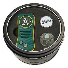 Team Golf Oakland Athletics Switchfix Divot Tool, Cap Clip & Ball Marker Set