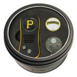 Team Golf Pittsburgh Pirates Switchfix Divot Tool, Cap Clip & Ball Marker Set