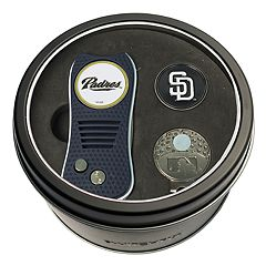 Team Golf San Diego Padres Switchfix Divot Tool, Cap Clip & Ball Marker Set