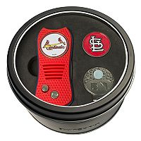 Team Golf St. Louis Cardinals Switchfix Divot Tool, Cap Clip & Ball Marker Set