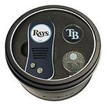 Team Golf Tampa Bay Rays Switchfix Divot Tool, Cap Clip & Ball Marker Set