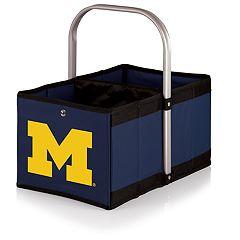 Picnic Time Michigan Wolverines Urban Folding Picnic Basket