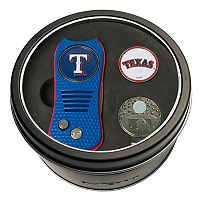 Team Golf Texas Rangers Switchfix Divot Tool, Cap Clip & Ball Marker Set