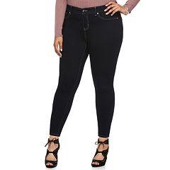 Plus Size Jennifer Lopez Super Skinny Jeans
