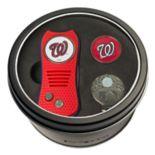 Team Golf Washington Nationals Switchfix Divot Tool, Cap Clip & Ball Marker Set
