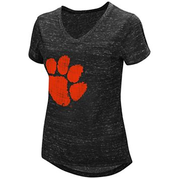 Women's Campus Heritage Clemson Tigers Pocket Tee