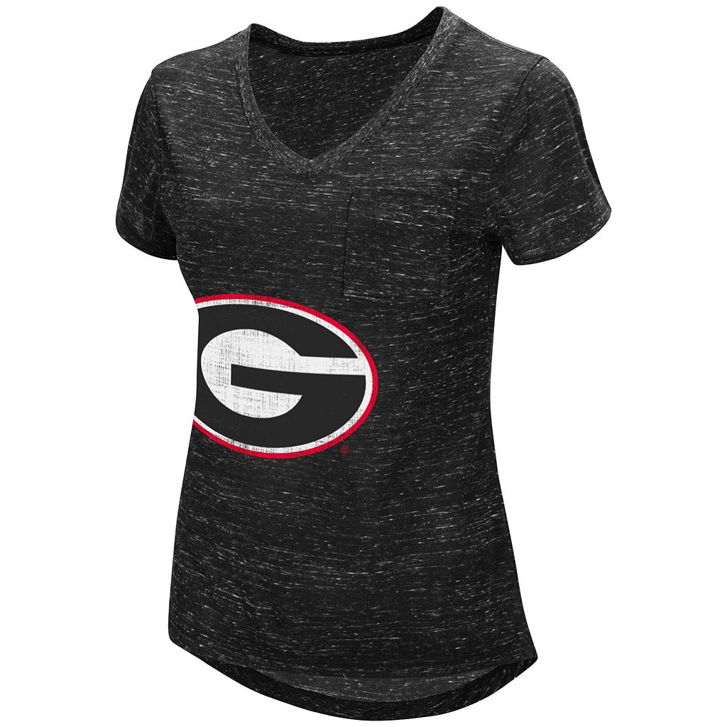 Women's Campus Heritage Georgia Bulldogs Pocket Tee