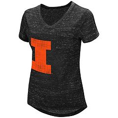 Women's Campus Heritage Illinois Fighting Illini Pocket Tee