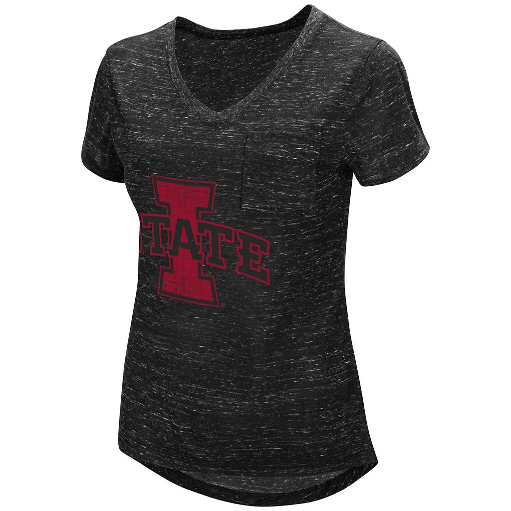 Women's Campus Heritage Iowa State Cyclones Pocket Tee