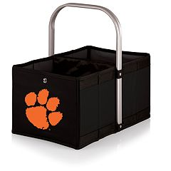 Picnic Time Clemson Tigers Urban Folding Picnic Basket