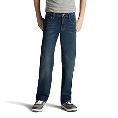 Boys 8-20 Lee Sport Xtreme Comfort Straight-Fit Straight-Leg Jeans