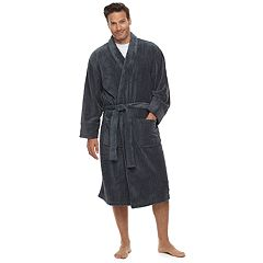 7cca365bc7 Men s Hanes Ultimate Plush Soft Touch Robe