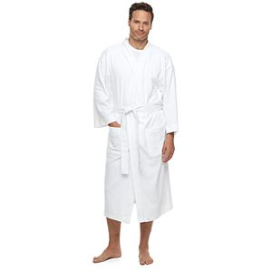 Men's Hanes Ultimate Waffle-Weave Knit Spa Robe