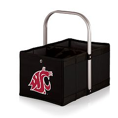 Picnic Time Washington State Cougars Urban Folding Picnic Basket