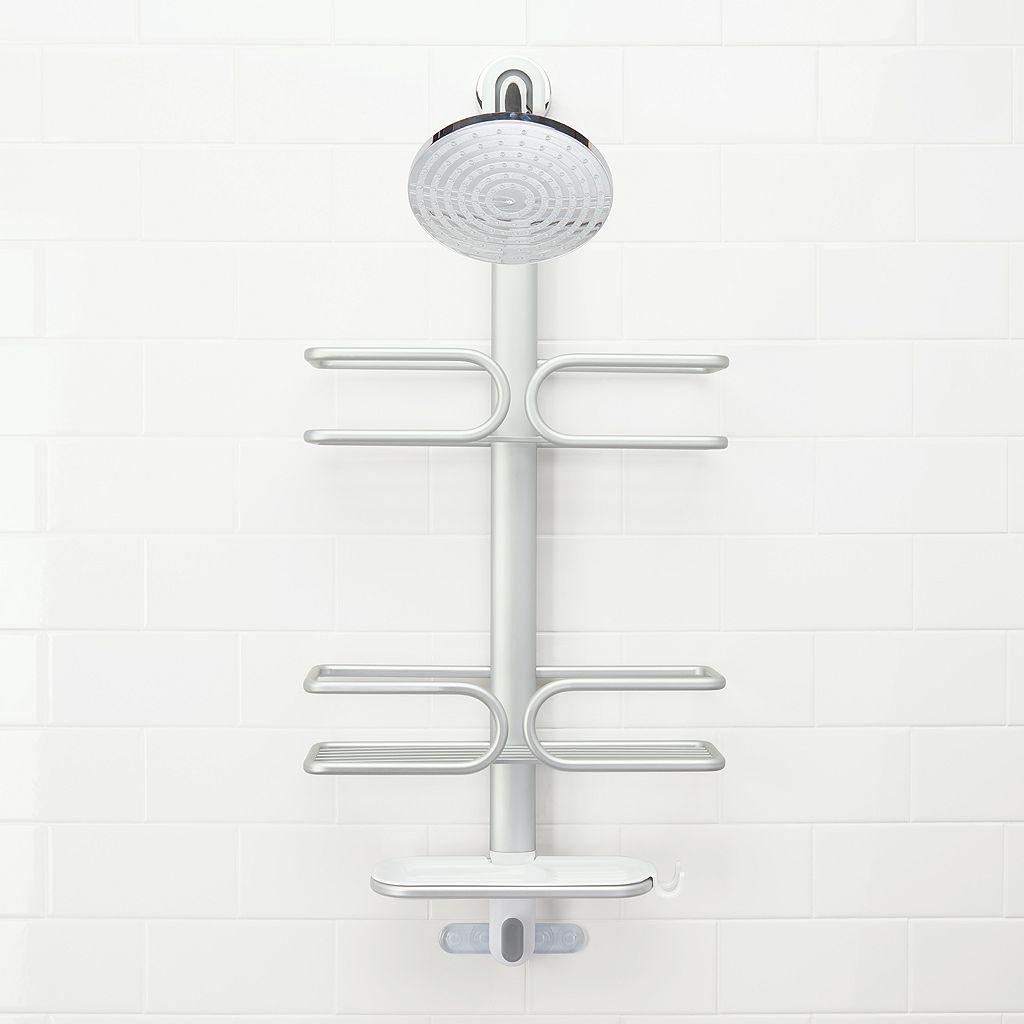 OXO 3-Tier Aluminum Shower Caddy