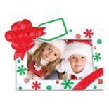 "PolarX Ornaments 3"" x 1.75"" Present Photo Holder Christmas Ornament"