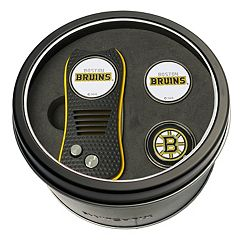 Team Golf Boston Bruins Switchfix Divot Tool & Two Ball Markers