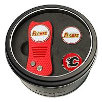 Team Golf Calgary Flames Switchfix Divot Tool & Two Ball Markers