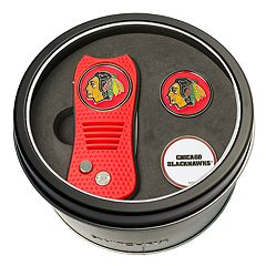 Team Golf Chicago Blackhawks Switchfix Divot Tool & Two Ball Markers
