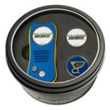 Team Golf St. Louis Blues Switchfix Divot Tool & Two Ball Markers
