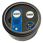 Team Golf St. Louis Blues Switchfix Divot Tool & Two Ball Markers