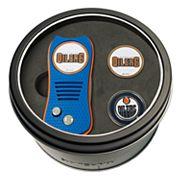Team Golf Edmonton Oilers Switchfix Divot Tool & Two Ball Markers