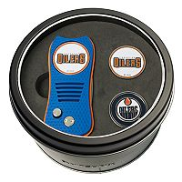 Team Golf Edmonton Oilers Switchfix Divot Tool & Two Ball Markers
