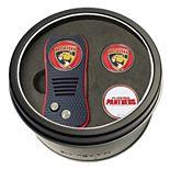 Team Golf Carolina Panthers Switchfix Divot Tool & Two Ball Markers