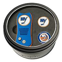 Team Golf New York Islanders Switchfix Divot Tool & Two Ball Markers