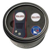 Team Golf New York Rangers Switchfix Divot Tool & Two Ball Markers