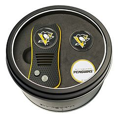 Team Golf Pittsburgh Penguins Switchfix Divot Tool & Two Ball Markers