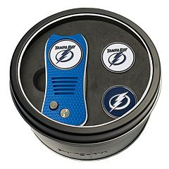 Team Golf Tampa Bay Lightning Switchfix Divot Tool & Two Ball Markers