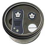 Team Golf Toronto Maple Leafs Switchfix Divot Tool & Two Ball Markers