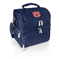 Picnic Time Auburn Tigers 7 pc Insulated Cooler Lunch Tote Set