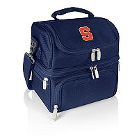 Picnic Time Syracuse Orange 7 pc Insulated Cooler Lunch Tote Set