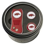 Team Golf Arkansas Razorbacks Switchfix Divot Tool & Two Ball Markers