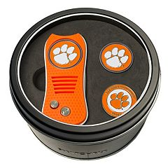 Team Golf Clemson Tigers Switchfix Divot Tool & Two Ball Markers